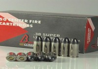 .38 SUPER  LEAD ROUND NOSE 130gr
