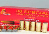 .38 SPECIAL LEAD WAD CUTTER 148 gr.