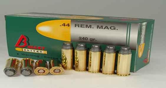 .44 REM. MAG. 240 gr.