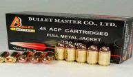 .45 ACP CARTRIDGES FULL METAL JACKET 230gr