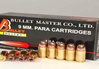 9 MM. PARA CARTRIDGES JACKET HOLLOW POINT.124GR
