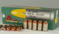 .38 SUPER FULL METAL JACKET 130 gr.