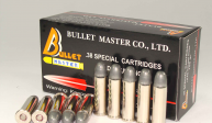 .38 SPECIAL CARTRIDGES LRN 158 gr.