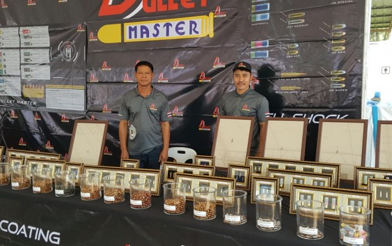 Bullet Master เปิดบูธที่แมทช์ Asia Pacific Extreams Open 2018