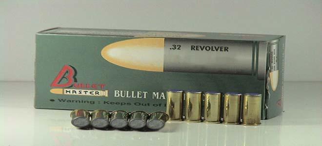 .32 REVOLVER S&W LONG 100 gr.