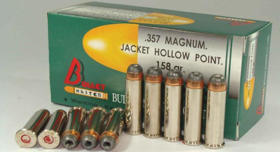 357 MAGNUM JACKET HOLLOW POINT.
