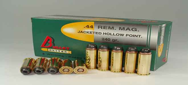 .44 REM. MAG.JACKETED HOLLOW POINT.