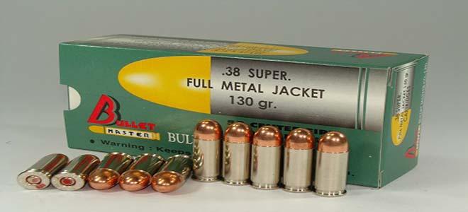 .38 SUPER FULL METAL JACKET 130 gr.