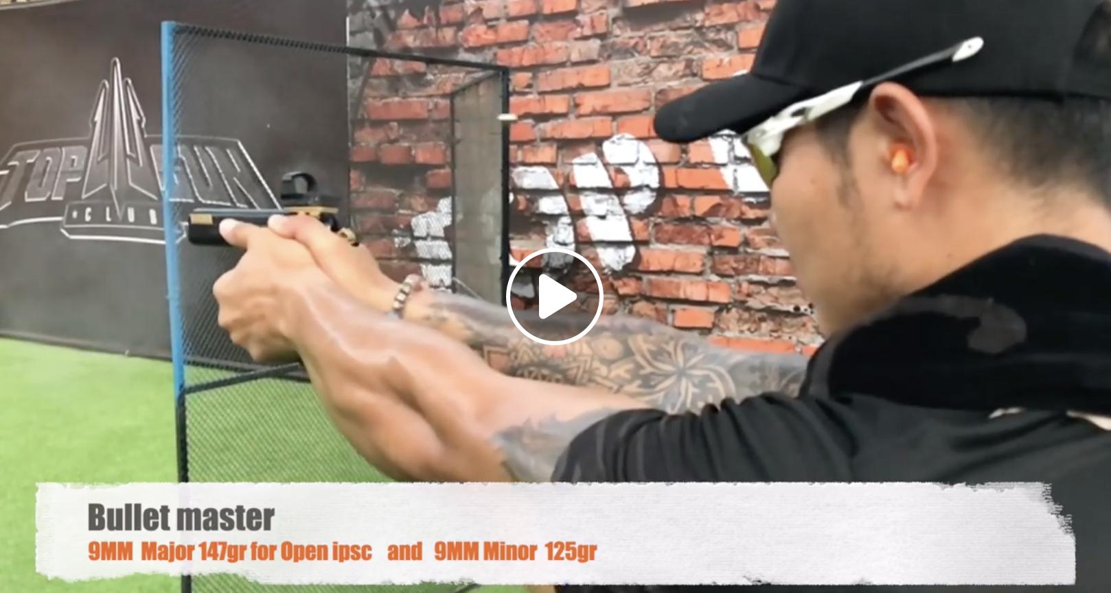 New Bullet 9MM Major 147gr and 9 MM Minor 125gr