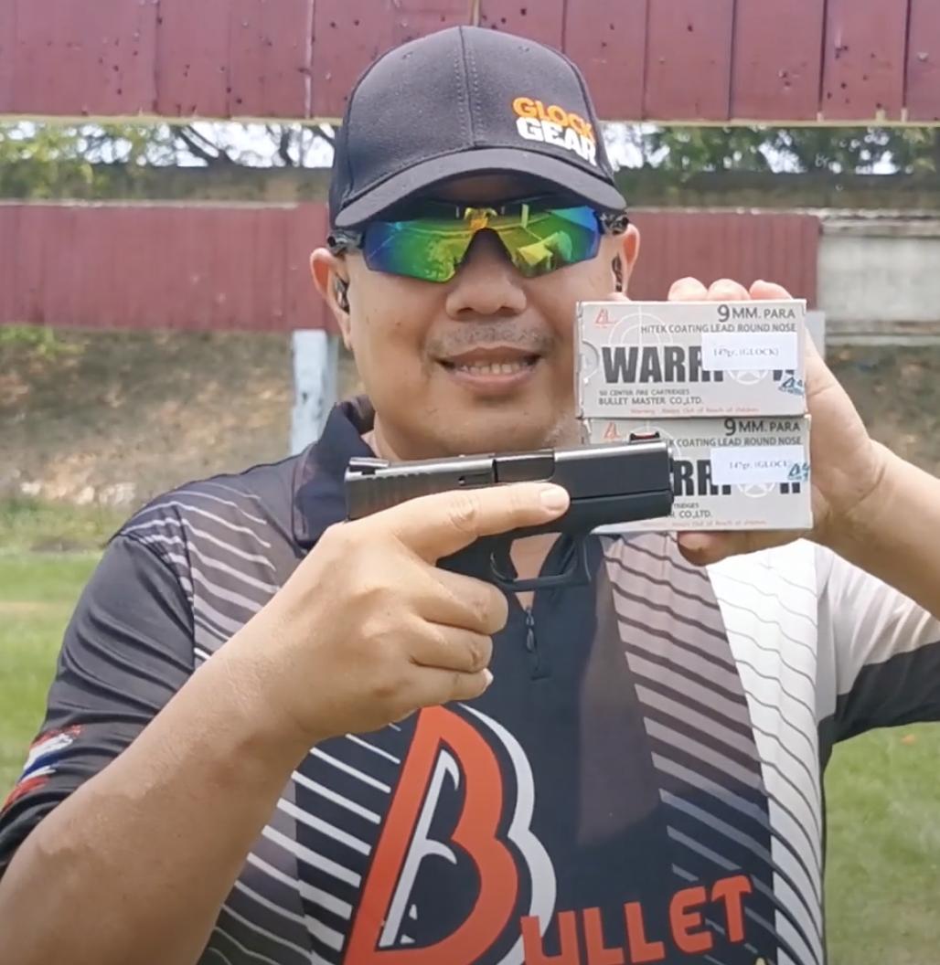 Glock43 100Rounds Bullet Master (ยิงต่อเนื่อง)