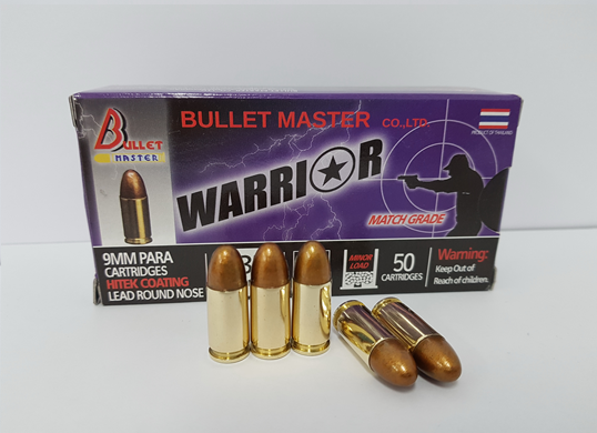 9 mm. LRN Hitek Coating 130 gr.